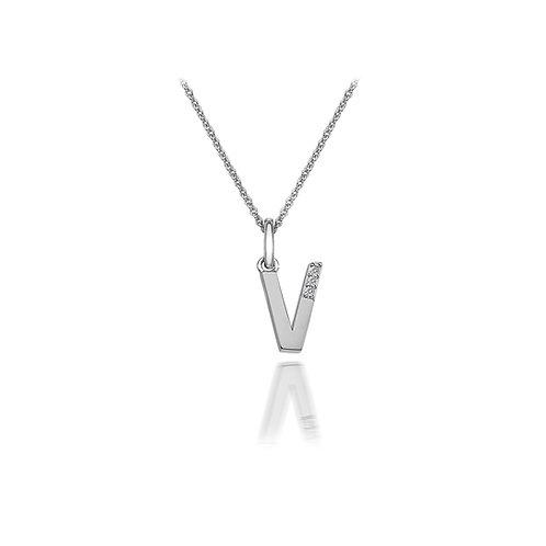 'V' Micro Pendant