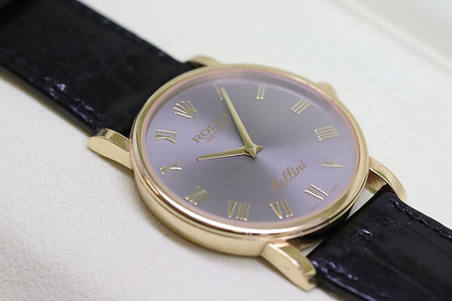 Rolex Cellini in 18ct Yellow Gold on Strap
