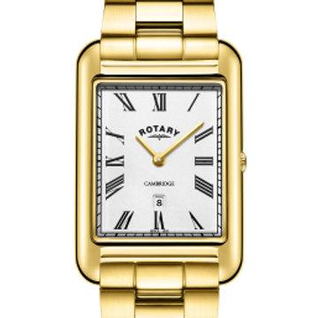 Rotary Gents Gold PVD Bracelet Cambridge