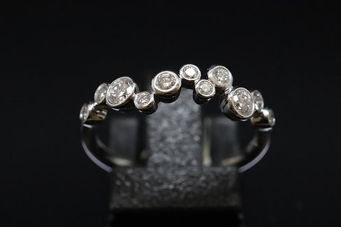 Boodles' Bubble Style Single Row Ring