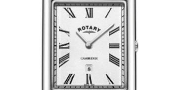 Rotary Gents Stainless Steel Bracelet Cambridge