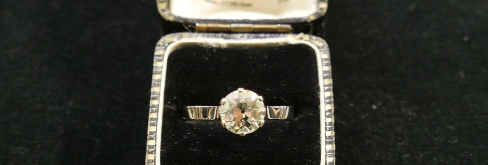 Pre-owned 2.45ct Diamond Platinum Solitaire