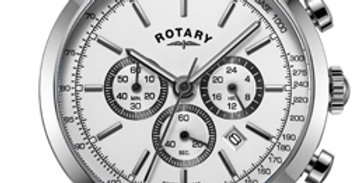 Rotary Cambridge Silver White Stainless Steel