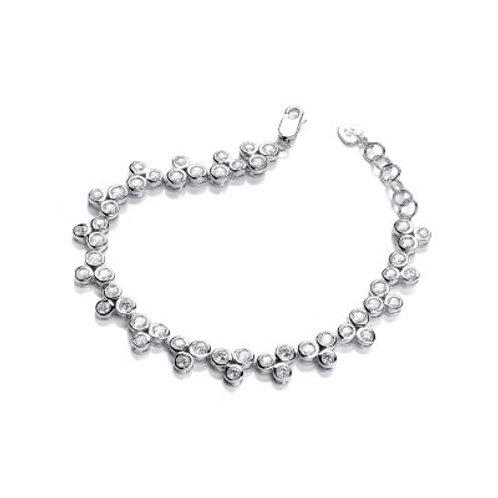Graceful Dance Cubic Zirconia Bracelet