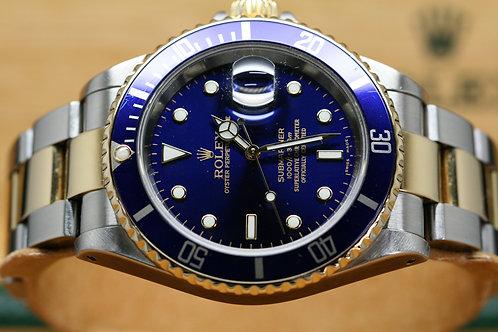 Rolex 2003 Blue Submariner