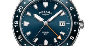 Rotary Blue Henley Gents GMT Quartz