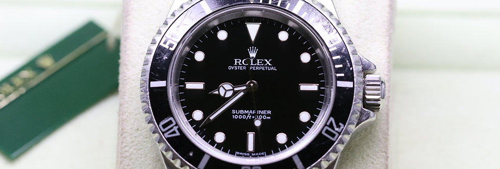 Rolex Non Date Submariner in Stainless Steel