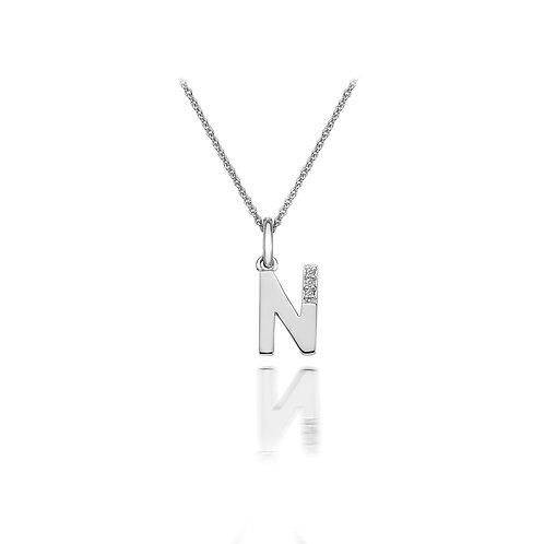 'N' Micro Pendant