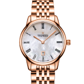 Ladies Rose Gold Mother of Pearl Watch