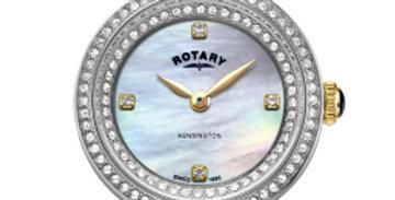 Rotary Two Tone Gold Kensington Ladies