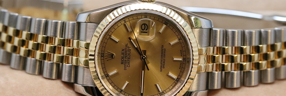 Rolex Datejust 18ct Gold and Stainless Steel