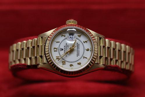 Ladies 18ct Gold Rolex Datejust