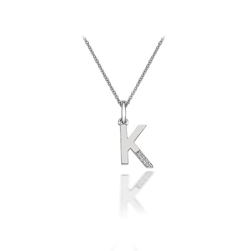 'K' Micro Pendant