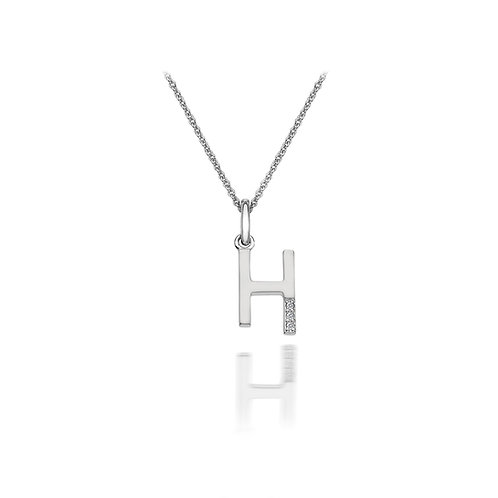 'H' Micro Pendant