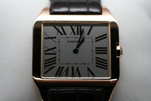 18k Rose Gold Cartier Dumont Mechanical