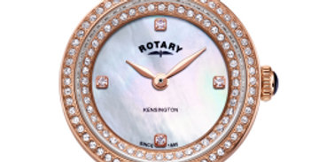 Rotary Rose Gold Kensington Ladies