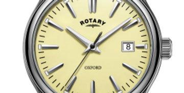 Rotary Oxford Cream Stainless Steel Quartz Watch