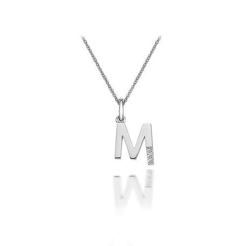 'M' Micro Pendant