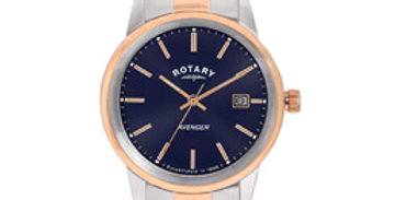 Rotary Ladies Rose gold Avenger watch