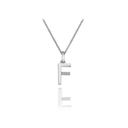 'F' Micro Pendant