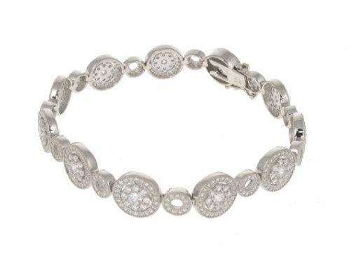 Just Sparkle Sterling Silver Bracelet