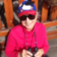 Karen in puffin hat.jpeg