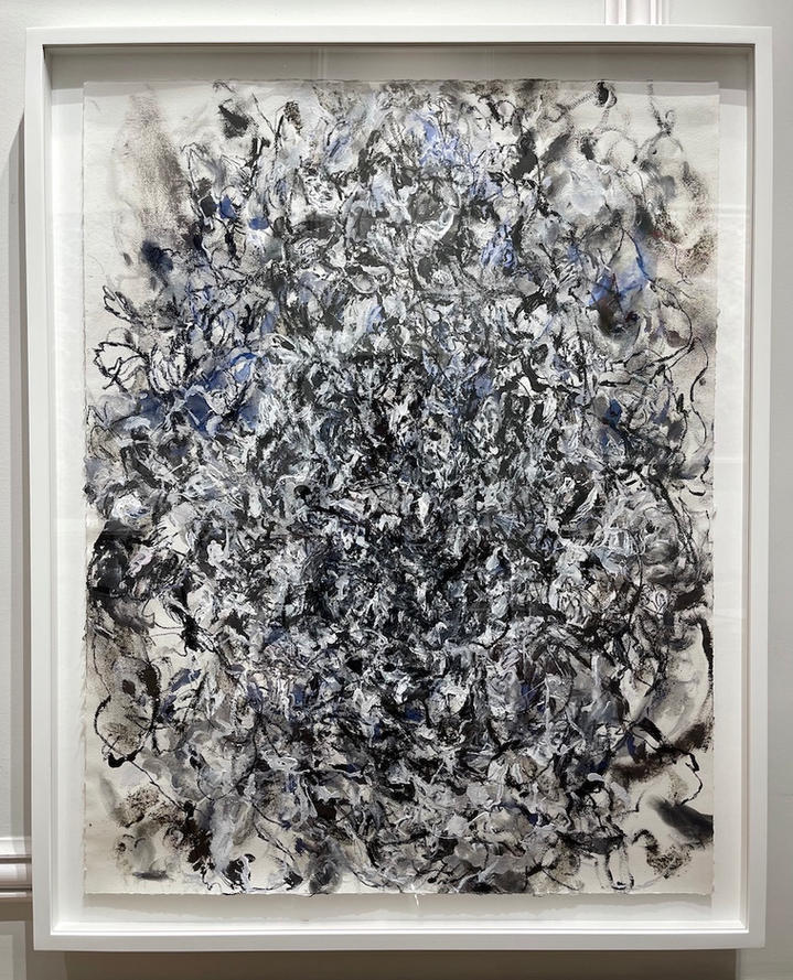 Untitled, charcoal and acrylic on paper, 39x31 inches, 2020.jpg