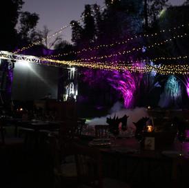 Iluminacion de evento