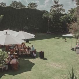 Bautizo en Jardín Escondido Estilo Campestre