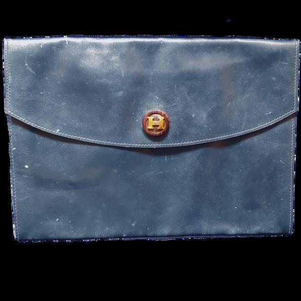 Authentic Hermes Envelope Clutch
