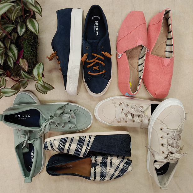 Sperry's & Toms shoes