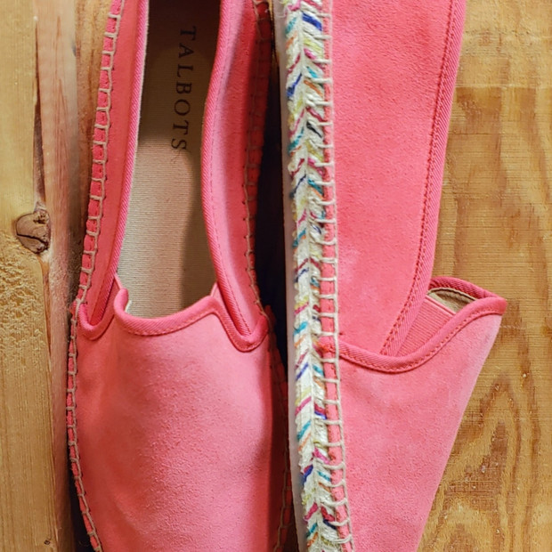 Talbots suede flats