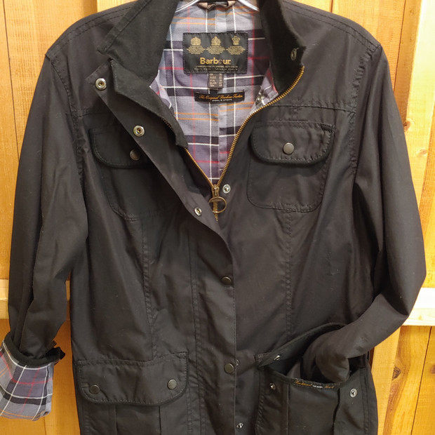 Authentic Barbour waxed jacket