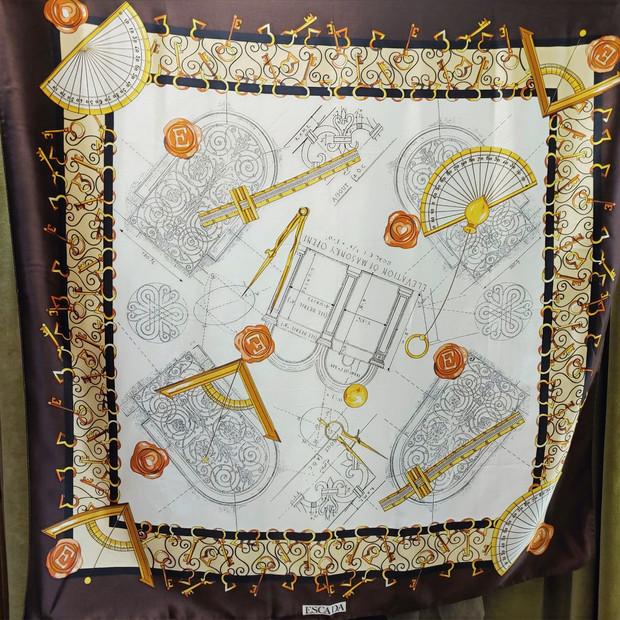 Authentic Escada Silk Scarf