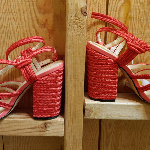 Cabi rope wrapped heels
