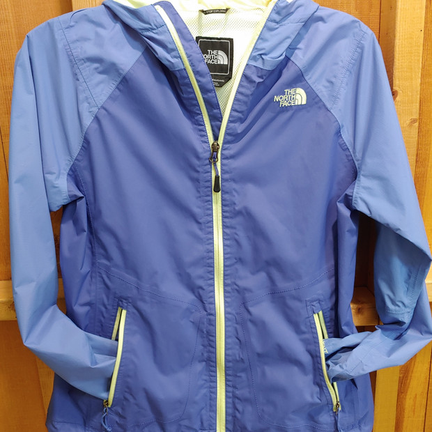 North Face rain jacket w/ hood