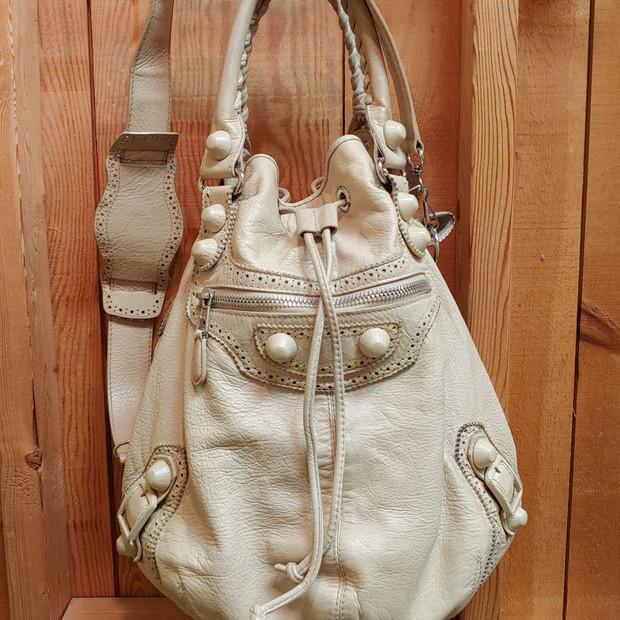 Balenciaga Drawstring Bag