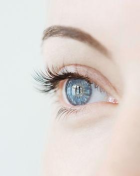 Blå øyne