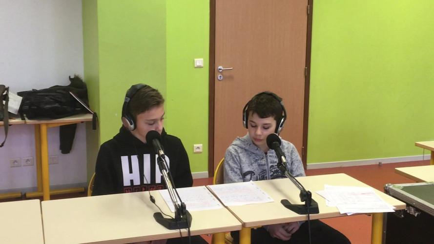 Evan et Mailo les présentateurs