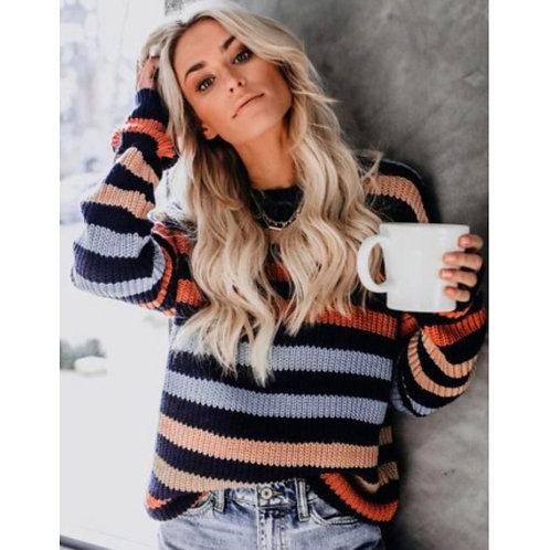 Hattie Striped Sweater