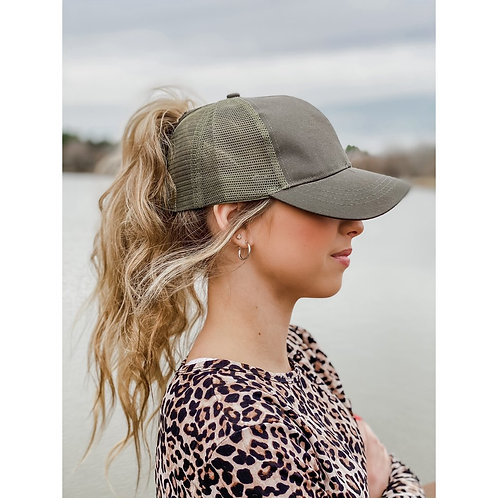 Classic High Pony CC Ball Cap
