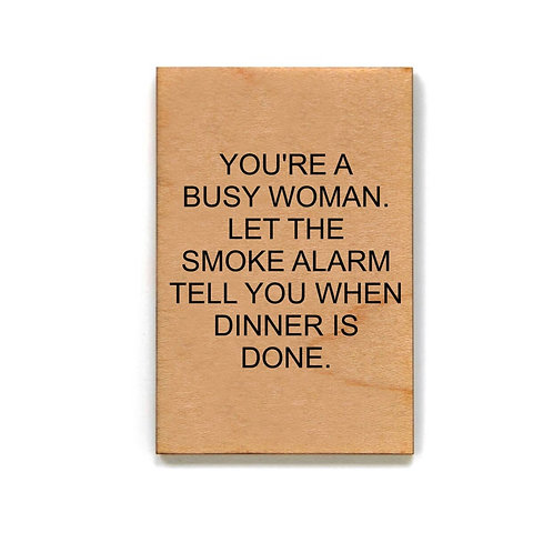 Busy Woman Magnet