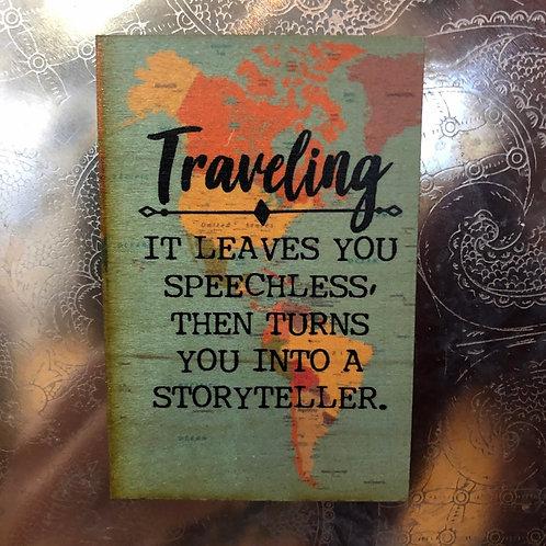 Speechless Traveling Magnet
