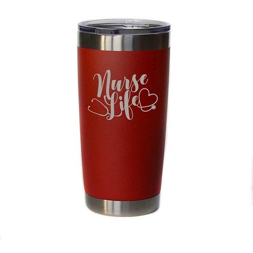 Nurse Life Insulated Mug