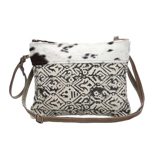 Dual Strap Cotton Rug Small Bag