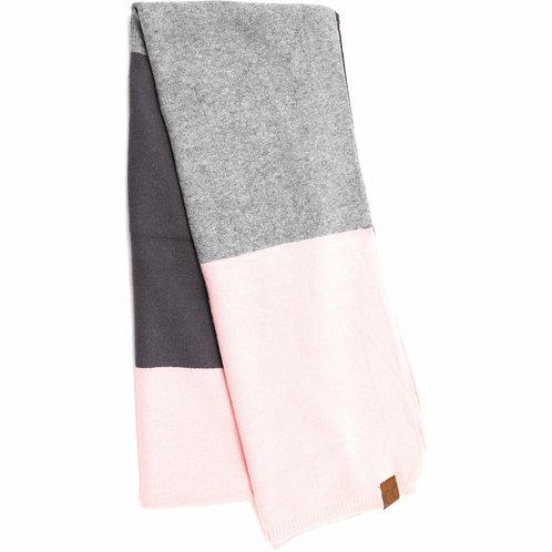 CC Colorblock Knit Scarf