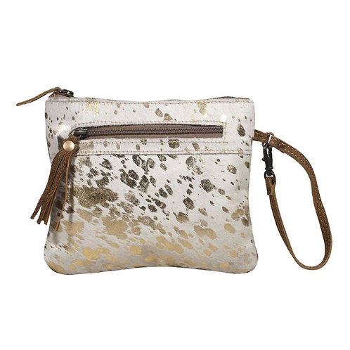 Spotted Leather Pouch