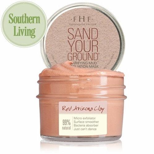 Sand Your Ground Clarifying Mud Exfoliation Mask
