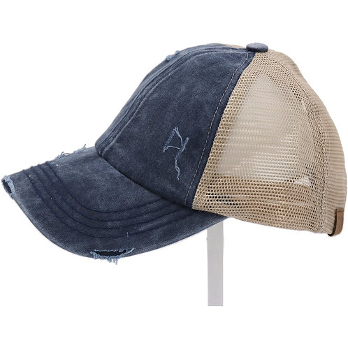 Washed Demin CC Hat