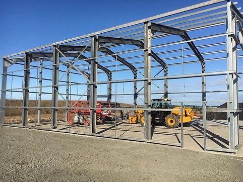 Agricultural Steel Frame Building Storage